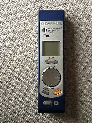 Olympus W-10 Digital Voice Recorder with Built in Digital Camera