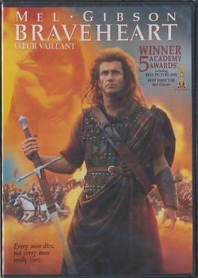 Braveheart (DVD, 2007, Canadian) BEST PICTURE