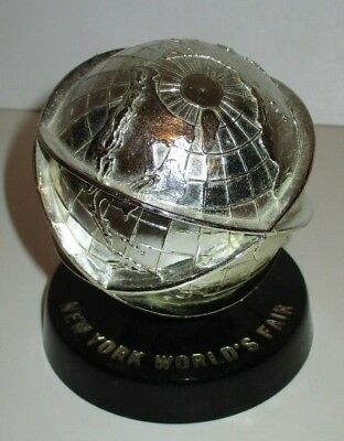 Vintage 1964 1965 Nywf New York Worlds Fair Plastic Unisphere Figure Topping Inc