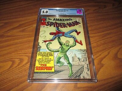 Amazing Spider-Man #20 CGC 5.0 Origin and First Appearance of the Scorpion