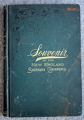 Rare 1897 HISTORY NEW ENGLAND SOUTHERN CONFERENCE New Bedford MARTHA'S VINEYARD
