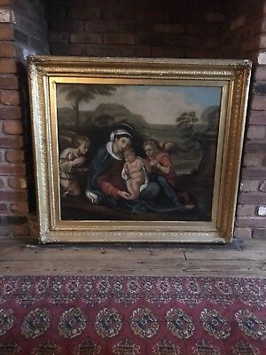 Antique 19th Century Oil painting By James Archer RSA