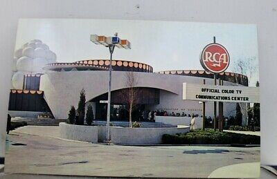 New York NY NYC World's Fair RCA Pavilion Postcard Old Vintage Card View Post PC