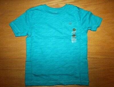 NWT Gymboree Surf Wagon Size 3T Blue Pocket Tee Shirt Top