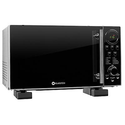 Set four micro ondes 700w fonction grill 12 programmes + fixation support mural