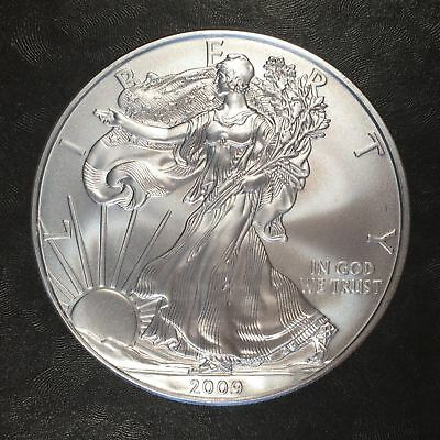 2009 Uncirculated American Silver Eagle US Mint Issue 1oz Pure Silver