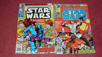 STAR WARS lot - 5 issues: #s 16, 17, 21, 22, 23  (Marvel, 1978-1979) NR!