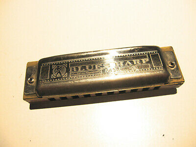 Vintage Hohner 'blues Harp' Harmonica Made In Germany Very Good Condition Key Of