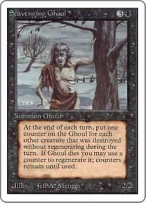 WOTC MtG Unlimited Scavenging Ghoul (C) NM