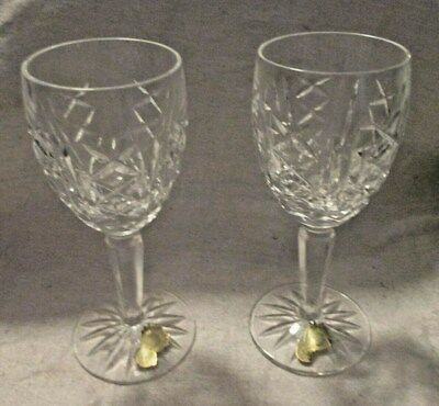 Two Waterford Stems - Probably Lismore VINTAGE ESTATE