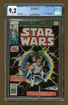 Star Wars (Marvel) #1 1977 1st Printing CGC 9.2 0332160017