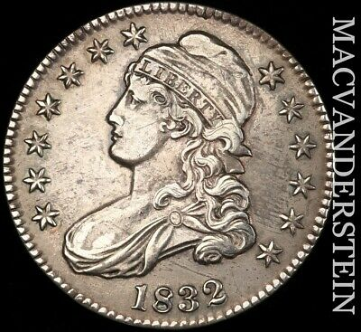 1832 Capped Bust Half Dollar - O-106 - Extra Fine!!  Better Date!!  #h6466