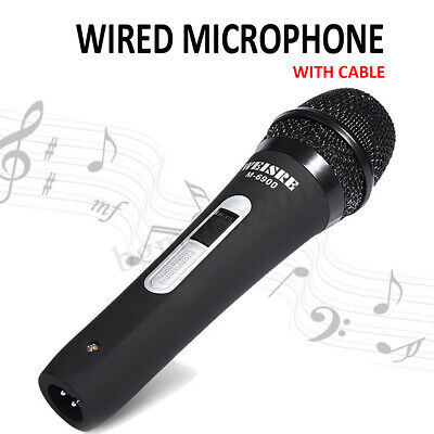 Professional Handheld Wired Dynamic 6.35mm Microphone DJ Audio Karaoke   CA