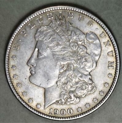 1900 Morgan Dollar Silver Coin