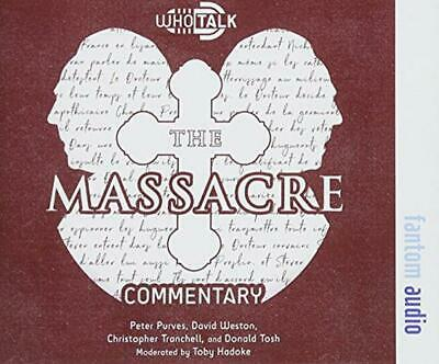 The Massacre by Hadoke, Toby, NEW Book, FREE & Fast Delivery, (Hardcover)