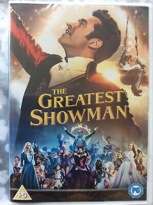 New & Sealed - The Greatest Showman Dvd  2017 - Sing Along Edition Hugh Jackman