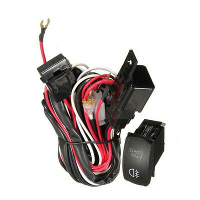 Led Offroad Wiring Loom Harness Relay Fuse Switch Kit 12V 40A Bar Work Light