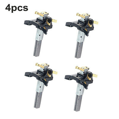 4 Pcs Vacuum Cleaner Electric Motor Carbon Brushes Supplies Cleaning Practical