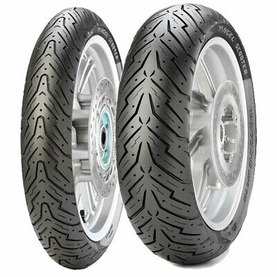 Tyre Set Pirelli 80/100-10 46J + 130/70-12 62P Angel Scooter