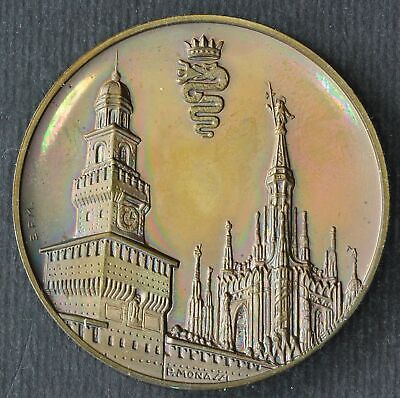 ITALY Medal 1987 - Bronze - Milan Archaeological Museum - 51