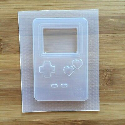 Game Console Mold Shaker Resin Mould Food Safe Chocolate 90s Toys Retro Gamer