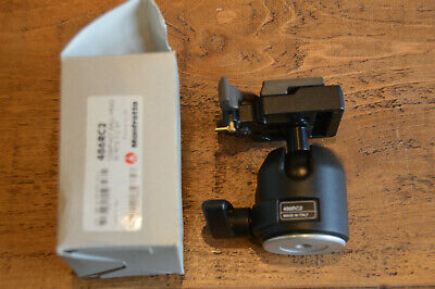 486RC2 Manfrotto Compact Ball Head with RC2 Quick Release Plate