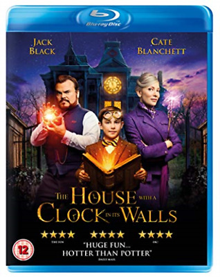 House With A Clock In Its Walls The (UK IMPORT) BLU-RAY NEW