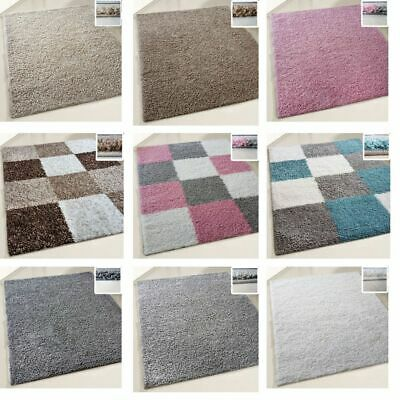 Small X Large Size Thick Plain Soft Shaggy Non Shed Rug Modern Carpet Rugs