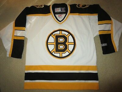 Boston Bruins NHL Hockey CCM Jersey LG L mens