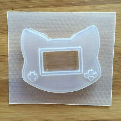 Game Console Mold Shaker Resin Mould Food Safe 90s Cat Head Kawaii Retro Gamer