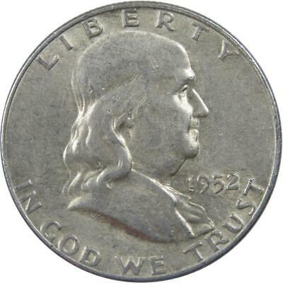 1952 D Franklin Half Dollar About Uncirculated