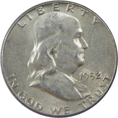 1952 Franklin Half Dollar About Uncirculated