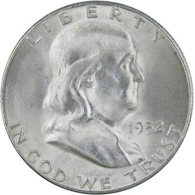 1952 S Franklin Half Dollar Uncirculated