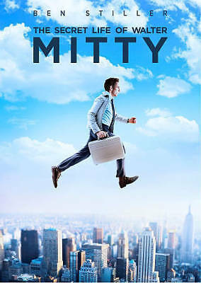 The Secret Life of Walter Mitty (DVD, 2014) New Sealed