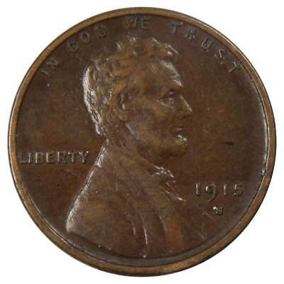 1915 S Lincoln Wheat Cent Penny XF,EF-Extra Fine