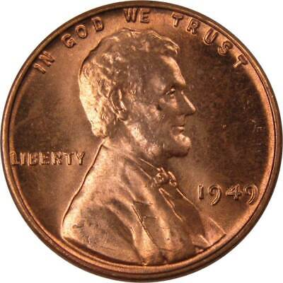 1949 1c Lincoln Wheat Cent Penny Uncirculated Mint State