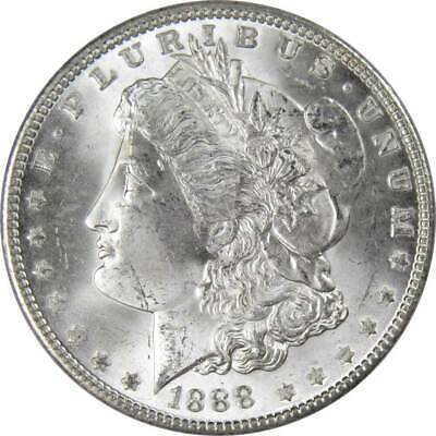 1888 $1 Morgan Silver Dollar US Coin BU Uncirculated Mint State
