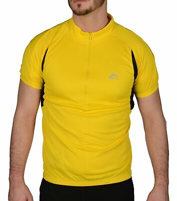 Clothing, Shoes & Accessories Cycling Clothing Provided More Mile Mens Cycle Jersey Short Sleeve Half Zip Breathable Summer Cycling Top