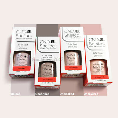 CND Shellac UV Gel Polish 2018 NUDE Collection 0.25oz Choose any one