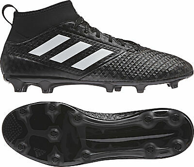 adidas ACE 17.3 Firm Ground Men's Football Boots, Black at