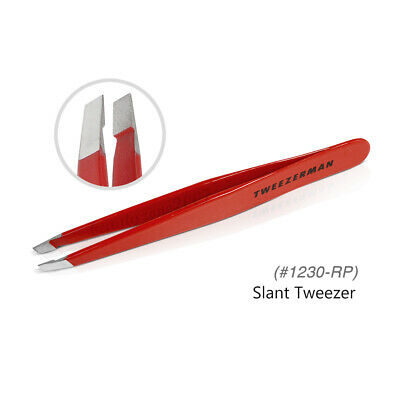 Tweezerman Slant Tweezer 1230 Signature Red Professional Tweezer