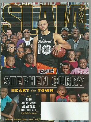 SLAM Magazine (January/February 2019) GOLDEN STATE WARRIORS STAR STEPH CURRY