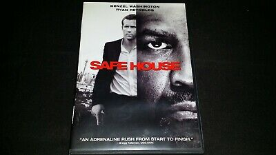 Safe House Dvd Movie Video Film Denzel Washington Ryan Reynolds Vera Farmiga