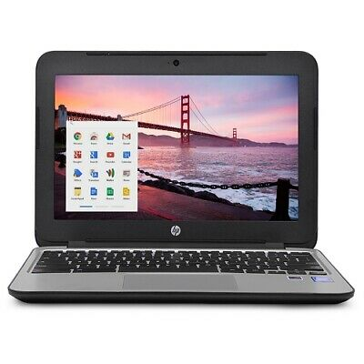 "HP Chromebook 11 G3 11.6"" Chromebook Laptop Intel Celeron Dual Core 4GB 16GB SSD"