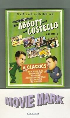 THE BEST OF ABBOTT & COSTELLO COLLECTION VOLUME 4 (Universal Video) 6 movies DVD