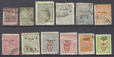 Turkey Newspaper Stamps Collection Lot $150+ Scv Most Sound