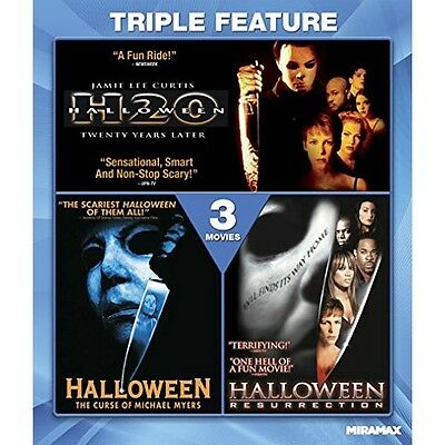 The Halloween Collection: H20 / Curse of Michael Myers / Resurrection | Blu-ray