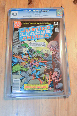 Justice League America #169 CGC 9.8 NM/MT, Batman, Green Lantern, top census!
