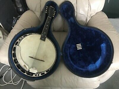 antique Gibson banjo / mandolin
