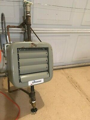 Modine Hydronic Heater Model HS18501 Fully Piped & Wired w Honeywell Thermostat